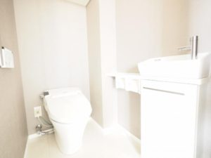 シティハウス中野中央 トイレ